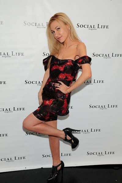 WATERMILL, NY - JULY 03: Social Life Magazine Editor Devorah Rose attends the social life magazine party at The Social Life Estate on July 3, 2010 in Watermill, New York.(Photo by Joseph Bellantoni/In House Image)