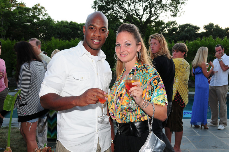 WATERMILL, NY - JULY 03:  DJ Marvilous attends the social life magazine party at The Social Life Estate on July 3, 2010 in Watermill, New York.(Photo by Joseph Bellantoni/In House Image)