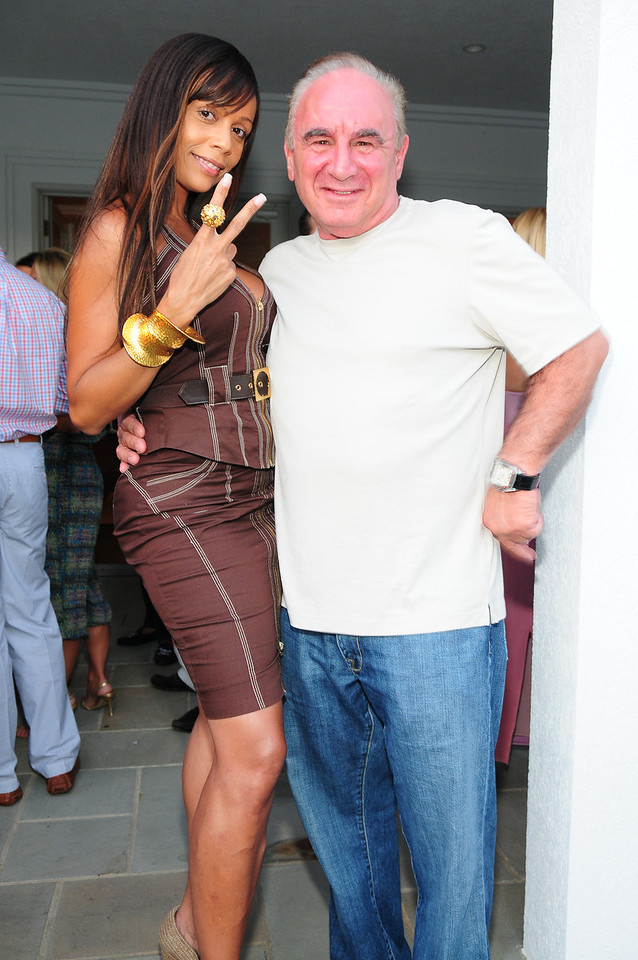 WATERMILL, NY - JULY 03:  Alisa Maria, and joe attends the social life magazine party at The Social Life Estate on July 3, 2010 in Watermill, New York.(Photo by Joseph Bellantoni/In House Image)
