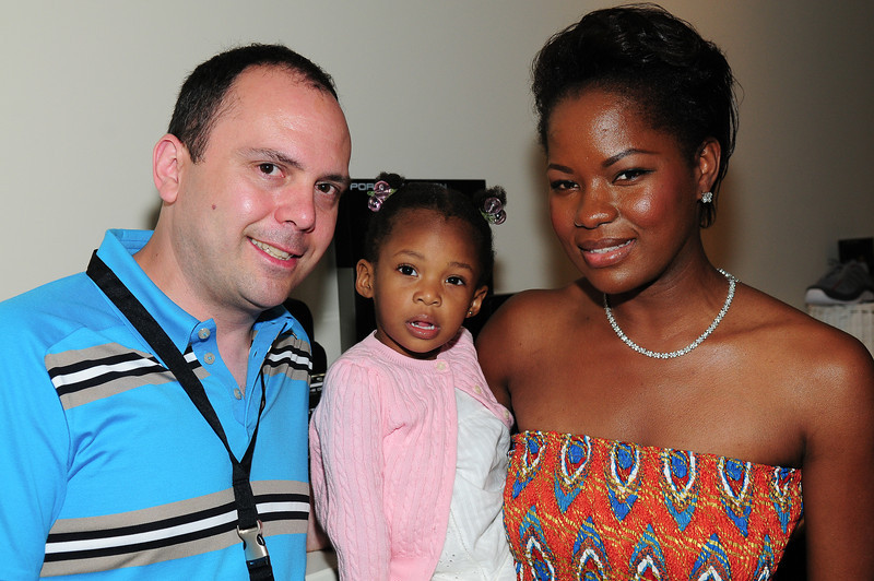 WATERMILL, NY - JULY 03: Macdella Cooper, and  Ella attends the social life magazine party at The Social Life Estate on July 3, 2010 in Watermill, New York.(Photo by Joseph Bellantoni/In House Image)