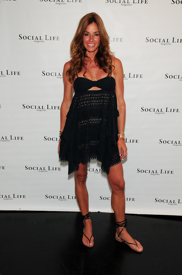 WATERMILL, NY - JULY 03: Kelly Bensimon attends the social life magazine party at The Social Life Estate on July 3, 2010 in Watermill, New York.(Photo by Joseph Bellantoni/In House Image)