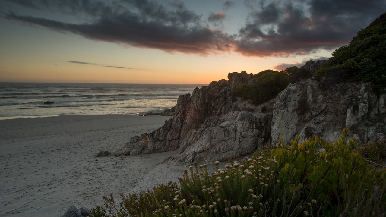 Hermanus Coast, South Africa.