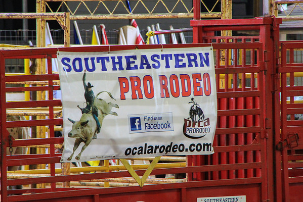 Southeastern Pro Rodeo, Ocala, Fl. March 22, 2013