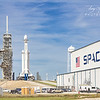 SpaceX Falcon Heavy on Pad 39A
