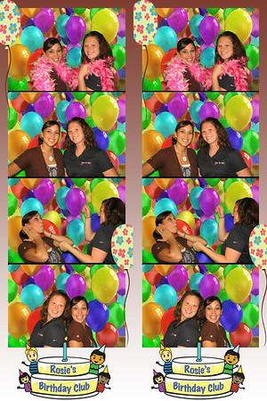 Rosie's Birthday Club Celebration September 27, 2012