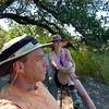 April 2012 - Foothills Regional Park overlook bench Splattski, Healdsburg  CA.