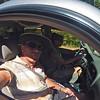 June 2012 - Driving Splattski on the way to the Cocktail Paddle II @ Lake Sonoma.