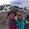 June 30, 2012 - Mount Lassen parking lot after the climb Splattski.