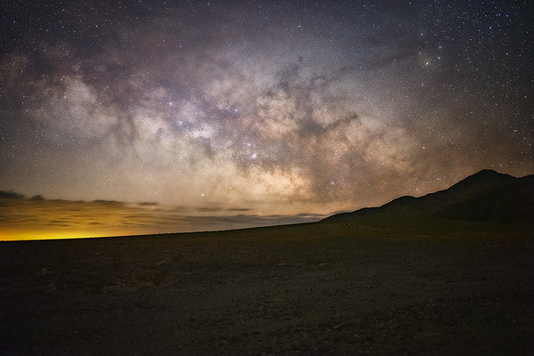 Milky Way Over Death Valley 35 mm
