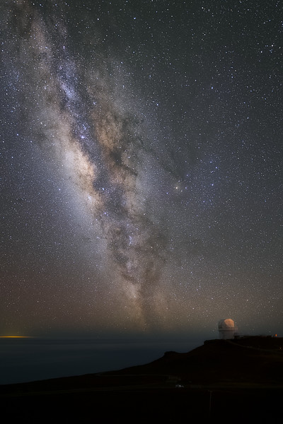 Milky Way from Top of Haleakala
