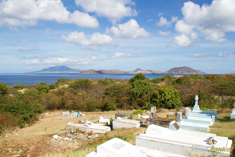 A view of the island from St Thomas Church