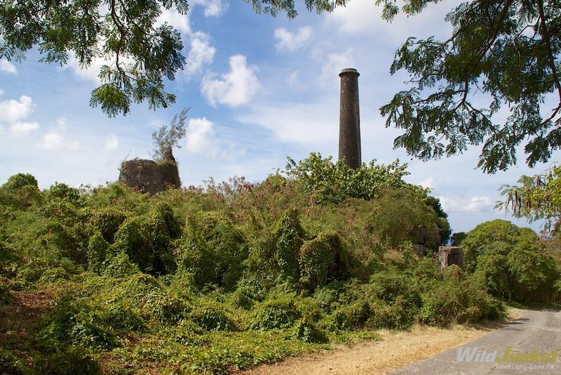 Abandoned sugar mill