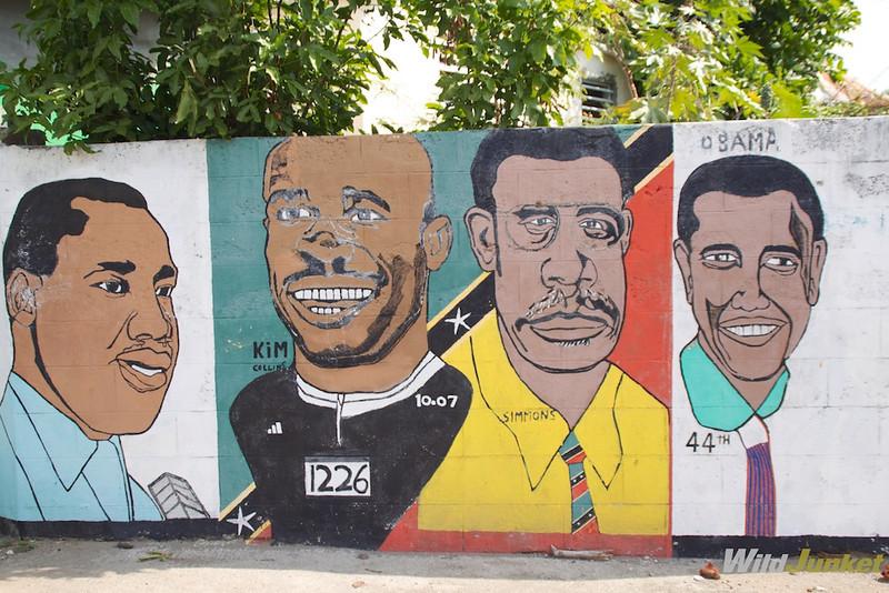 Caribbean street art