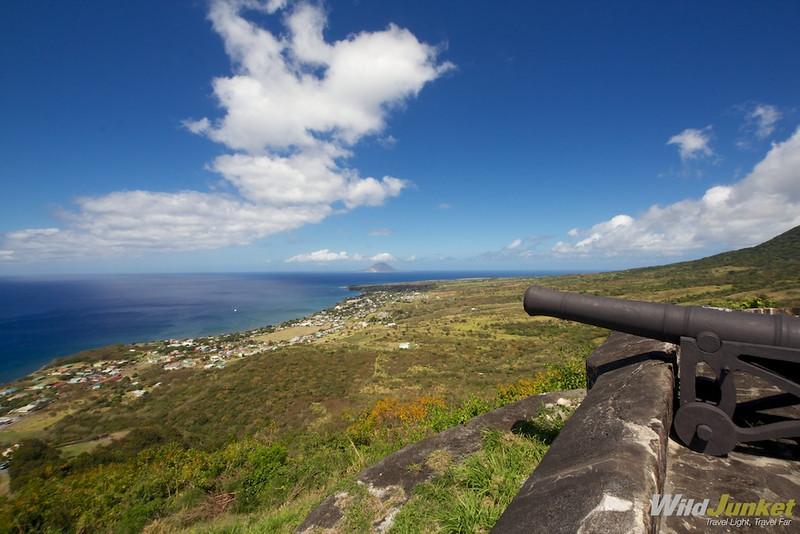 Cannon at Brimstone Hill Fortress