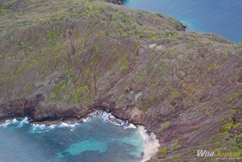 Shades of Blue: The Grenadines From Above