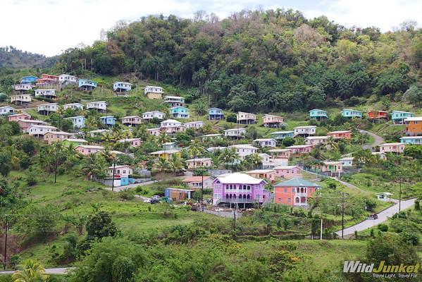 Colorful Vincentian houses