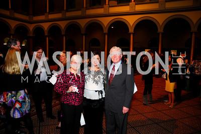 Barbara Ann Walsh,Judy Bishop,Leland Walsh,March 1,2011,St.Jude  Gourmet Gala,Kyle Samperton