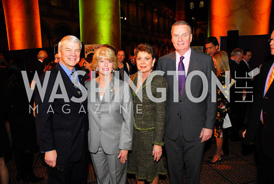 Allan McArtor,Grace McArtor,Diane Jones,Jim Jones,March 1,2011,St.Jude Gourmet Gala,Kyle Samperton