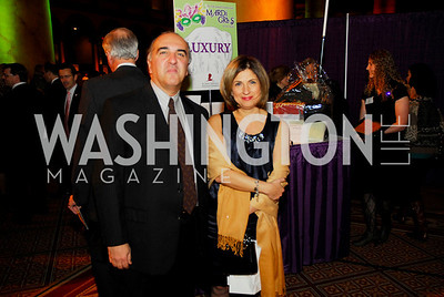 Reza Jahanbani,Fariba Jahanbani,March 1,2011,St Jude Gourmet Gala,Kyle Samperton