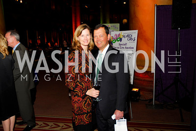 Stacey Patmore,Alex Kolar,March 1.2011,St.Jude Gourmet Gala,Kyle Samperton