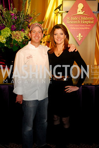 Geoff Tracy,Norah O'Donnell,March 1,2011,St.Jude Gourmet, Gala,Kyle Samperton