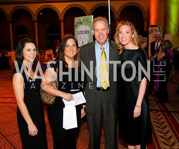 Carla Valdes,Sharon Shakarji,Tom Liljenquist,Erin Kilday,March 1,2011,St.Jude Gourmet Gala,Kyle Samperton