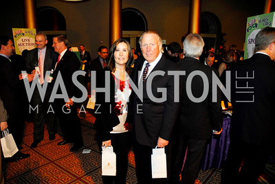 Bonnie Patterson,Dickie Patterson,March 1,2011,St.Jude Gourmet Gala,Kyle Samperton
