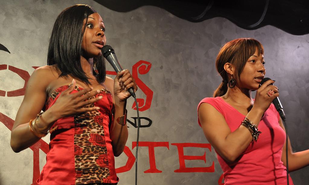 Comedienne's Kellye Howard and Vanessa Fraction