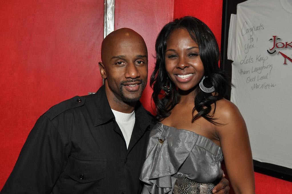Damon Williams and Kellye Howard