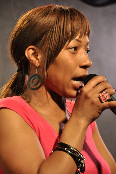 Comedienne Vanessa Fraction