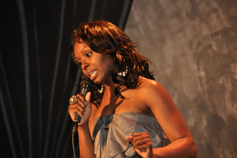Comedienne Kellye Howard