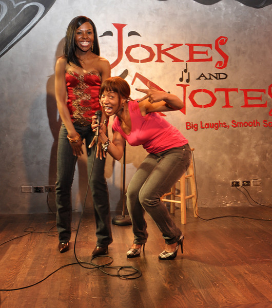 Comedienne's Kellye Howard and Vanessa Fraction