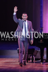 John Legend. Standing Ovation for DC Teachers. Kennedy Center. September 19, 2011. Photo by Alfredo Flores