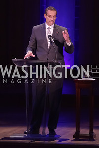 Mayor Vincent Gray. Standing Ovation for DC Teachers. Kennedy Center. September 19, 2011. Photo by Alfredo Flores