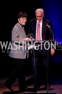 Standing Ovation for DC Teachers. Kennedy Center. September 19, 2011. Photo by Alfredo Flores