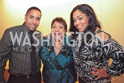 Sean Savoy, Jean Savoy, Courtney Savoy. Standing Ovation for DC Teachers. Kennedy Center. September 19, 2011.JPG