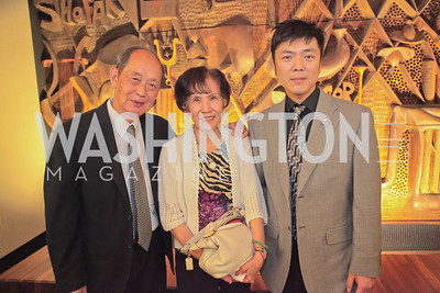 Chang An Zhou, Lisa Lanxia Wang, Jonathan S. Jou. Standing Ovation for DC Teachers. Kennedy Center. September 19, 2011.JPG
