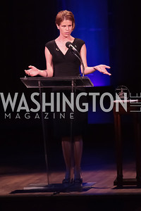 Kelly Emminger. Standing Ovation for DC Teachers. Kennedy Center. September 19, 2011. Photo by Alfredo Flores