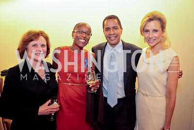 Liz Stevens, Tracey Griffin, Byron Auguste, Katherine Bradley. Standing Ovation for DC Teachers. Kennedy Center. September 19, 2011.JPG