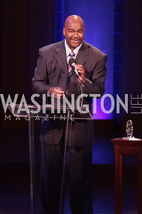 John Thompson III. Standing Ovation for DC Teachers. Kennedy Center. September 19, 2011. Photo by Alfredo Flores