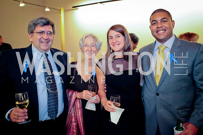 Sheldon Fishman, Lee Fishman, Shira Fishman, Kye Printop. Standing Ovation for DC Teachers. Kennedy Center. September 19, 2011.JPG