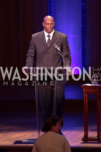 Rocky McIntosh. Standing Ovation for DC Teachers. Kennedy Center. September 19, 2011. Photo by Alfredo Flores
