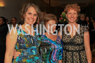 Cate Swinburn, Robin Smith, Andrea Leoncavallo. Standing Ovation for DC Teachers. Kennedy Center. September 19, 2011. Photo by Alfredo Flores