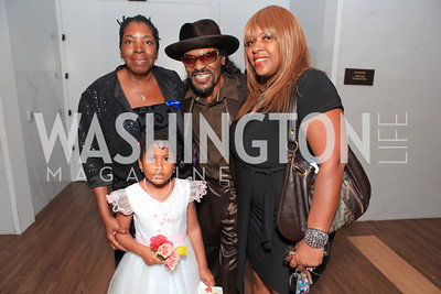 Chuck Brown. Standing Ovation for DC Teachers. Kennedy Center. September 19, 2011. Photo by Alfredo Flores