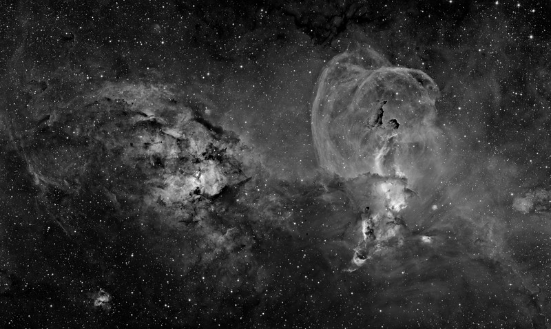 RCW 57. Same image as the adjacent, excepting processed to see fainter background material at the expense of foreground structure.