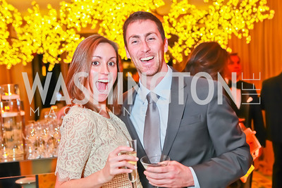 Kristen Hostetter, Chris Mahoney. Starlight Taste of the Stars Gala. Four Seasons Georgetown. November 19, 2011. Photo by Alfredo Flores
