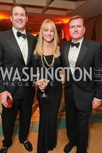 David Pollin, Kirsten Pollin, Jim Bell. Starlight Taste of the Stars Gala. Four Seasons Georgetown. November 19, 2011. Photo by Alfredo Flores