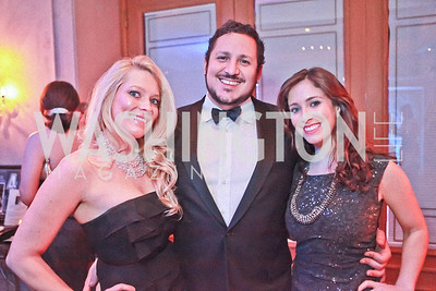 Mallory Kirsh, Kenneth Suarez, Mandi Howard. Starlight Taste of the Stars Gala. Four Seasons Georgetown. November 19, 2011. Photo by Alfredo Flores