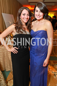 Farrah Erculianni, Elizabeth Leavitt. Starlight Taste of the Stars Gala. Four Seasons Georgetown. November 19, 2011. Photo by Alfredo Flores