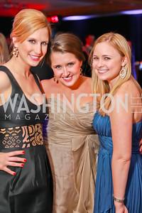 Julie Van Antwerpen, Kristen Friesen, Amy Lowman. Starlight Taste of the Stars Gala. Four Seasons Georgetown. November 19, 2011. Photo by Alfredo Flores